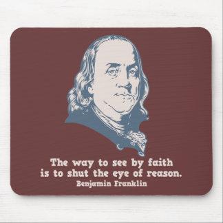 Franklin - Eye of Faith Mouse Pad