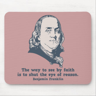 Franklin - Eye of Faith Mouse Pads