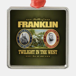 Franklin (FH2) Metal Ornament