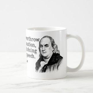 Franklin- Free Speech Mugs