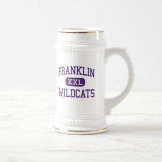 Franklin - gatos monteses - alto - arboleda jarra de cerveza