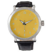 Franklin Gold and Blue Watch
