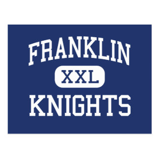 Franklin Knights Middle Champaign Illinois Postcard