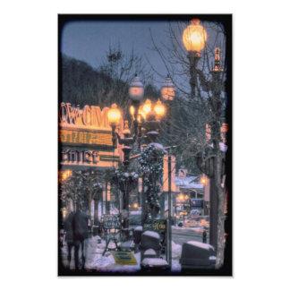 Franklin Pennsylvania in Winter Photo Print
