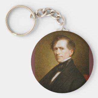 Franklin Pierce 14 Keychain