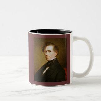Franklin Pierce 14 Two-Tone Coffee Mug
