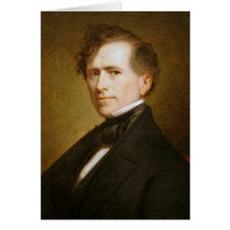 Franklin Pierce 14th President Card