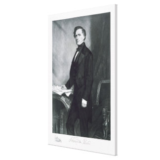 Franklin Pierce, 14th President of the United Stat Canvas Print