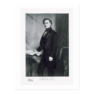 Franklin Pierce, 14th President of the United Stat Postcard