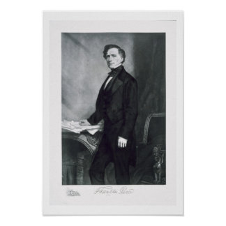 Franklin Pierce 14th President of the United Stat Poster