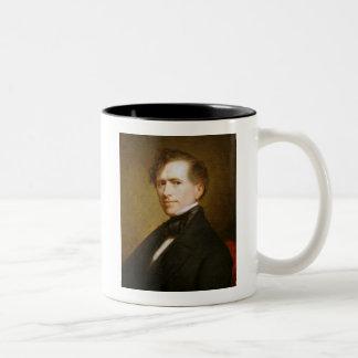 Franklin Pierce 14th President Two-Tone Coffee Mug
