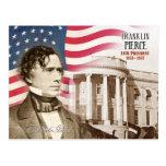 Franklin Pierce - 14to presidente de los E.E.U.U. Tarjeta Postal