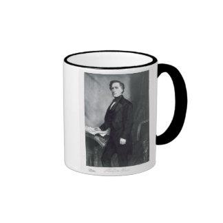 Franklin Pierce, 14to presidente del Stat unido Taza De Dos Colores
