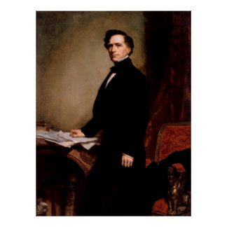 FRANKLIN PIERCE by George Peter Alexander Healy Poster