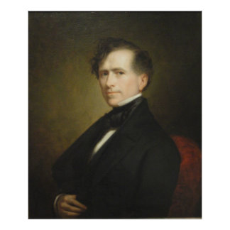 FRANKLIN PIERCE Portrait by George P.A. Healy Poster