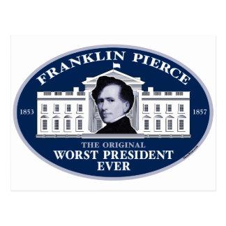 Franklin Pierce: The Original Worst President Ever Postcard