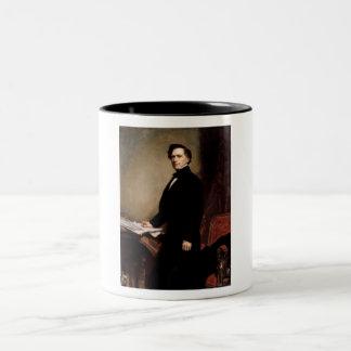 Franklin Pierce Two-Tone Coffee Mug