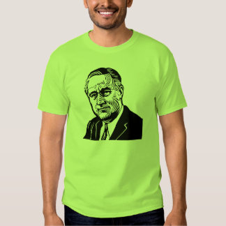 "Franklin Roosevelt ""32"" camiseta Camisas"