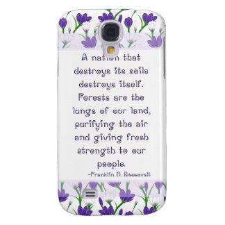 Franklin Roosevelt Quote- Spring Crocus Flowers HTC Vivid Case