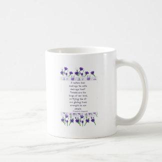 Franklin Roosevelt Quote- Spring Crocus Flowers Coffee Mug