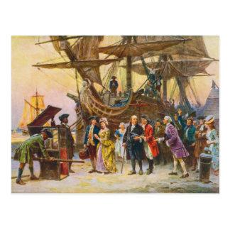 Franklin s Return to Philadelphia by Jean Ferris Post Cards