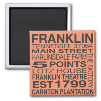 Franklin Tennessee Magnet
