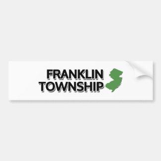 Franklin Township, New Jersey Bumper Sticker