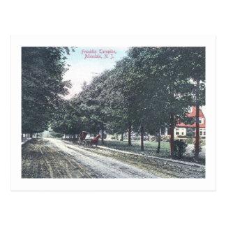 Franklin Tpk., Allendale, NJ 1909 Vintage Postcard