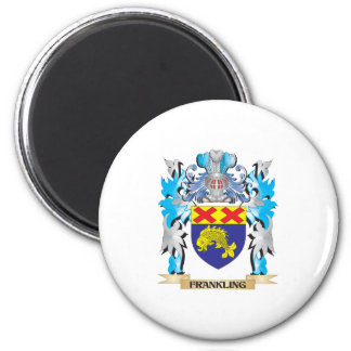 Frankling Coat of Arms - Family Crest Magnets