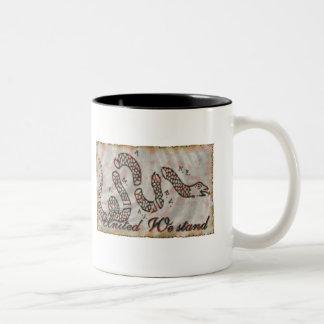Franklin's Cartoon Two-Tone Coffee Mug