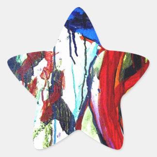 Franklin's Mountain Star Sticker