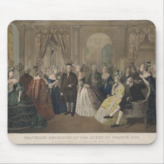 Franklin's Reception at the Court of France Mouse Pads