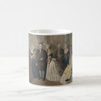 Franklin's Reception at the Court of France Coffee Mugs
