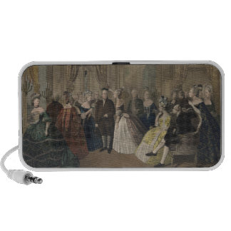 Franklin's Reception at the Court of France Travelling Speaker
