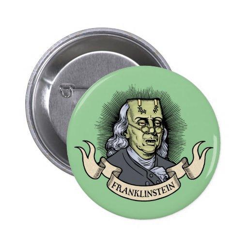 Franklinstein 2 Inch Round Button