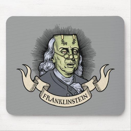 Franklinstein Mouse Pad