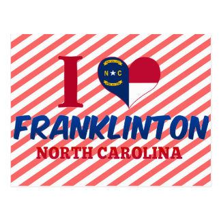 Franklinton, North Carolina Postcard
