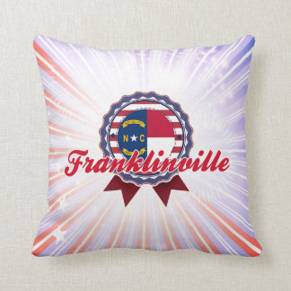 Franklinville, NC Throw Pillow