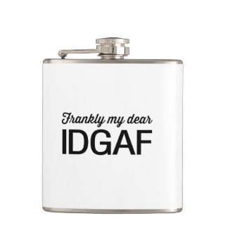 Frankly Me Dear, IDGAF Flask