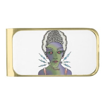 Franks Bride Gold Finish Money Clip