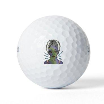 Halloween Themed Franks Bride Golf Balls