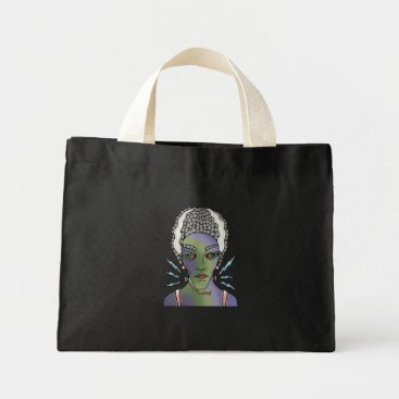 Halloween Themed Franks Bride Mini Tote Bag