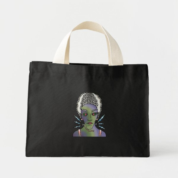 Franks Bride Mini Tote Bag