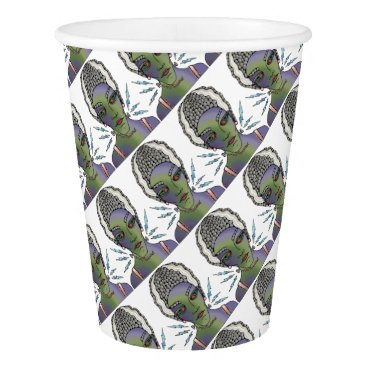 Halloween Themed Franks Bride Paper Cup
