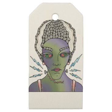 Franks Bride Wooden Gift Tags