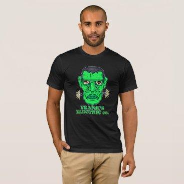 Halloween Themed Frank's Electric Company T-Shirt