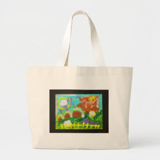 Frank's Farm by Piliero Large Tote Bag