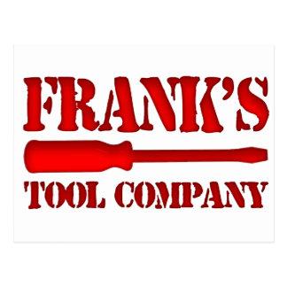 Frank's Tool Company Postcard