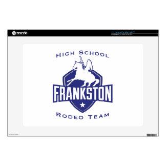 "Frankston High School Rodeo Team Skins For 15"" Laptops"