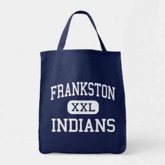 Frankston - Indians - High - Frankston Texas Tote Bags
